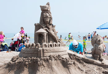 Sandcastle Competition 2014